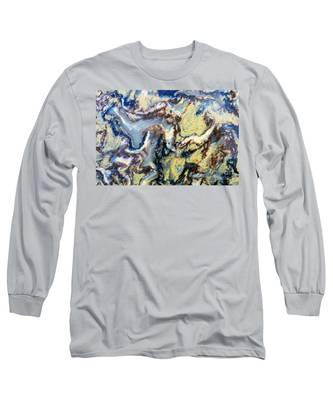 Patterns In Stone - 95 Long Sleeve T-Shirt