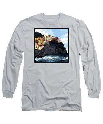 Manarola W/hidden Pictures Long Sleeve T-Shirt