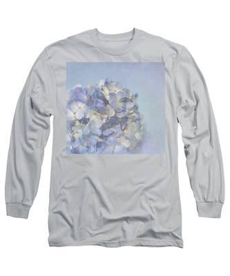 Charming Blue Long Sleeve T-Shirt
