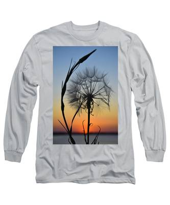 Long Sleeve T-Shirt featuring the photograph Dandy Lion by Skip Hunt