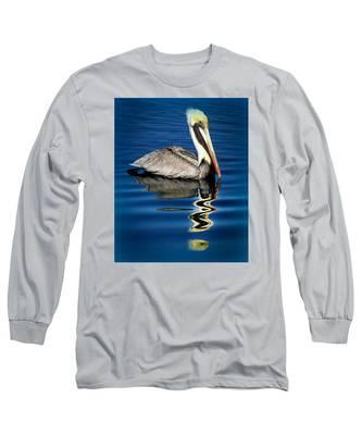 Eye Of Reflection Long Sleeve T-Shirt