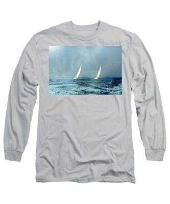 Sailing Into The Unknown Long Sleeve T-Shirt