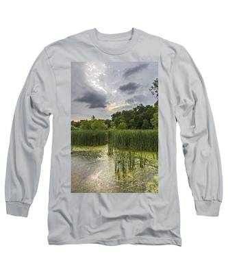 Summer Evening Clouds Long Sleeve T-Shirt
