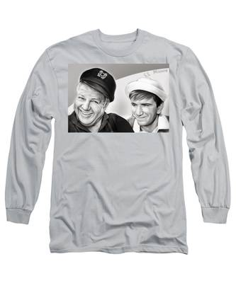 The Skipper And Gilligan Long Sleeve T-Shirt