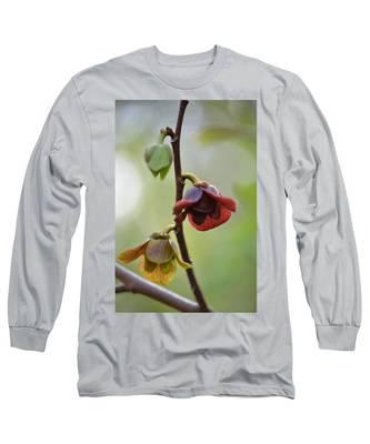 Paw-paw Flowers Long Sleeve T-Shirt
