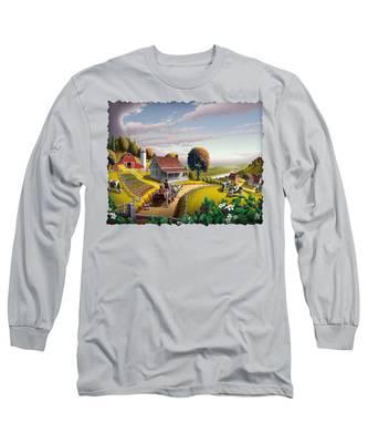 Americana Long Sleeve T-Shirts