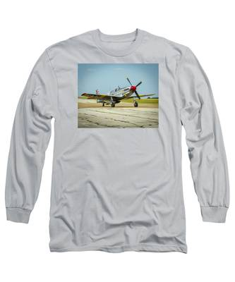 North American Tp-51c Mustang Long Sleeve T-Shirt