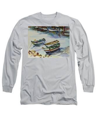 3 Boats I Long Sleeve T-Shirt