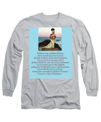 Afrikan Mother Long Sleeve T-Shirt