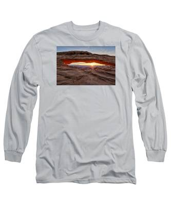 Another Sunrise At Mesa Arch Long Sleeve T-Shirt