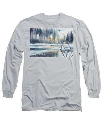 Snow From Yesterday Long Sleeve T-Shirt