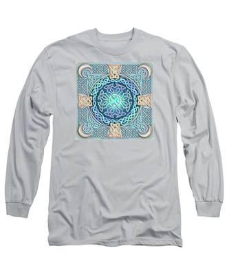 Celtic Eye Of The World Long Sleeve T-Shirt