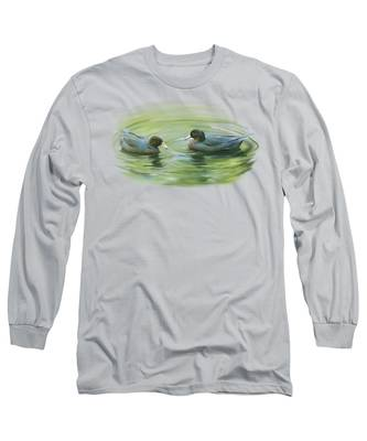Blue Ducks  Long Sleeve T-Shirt