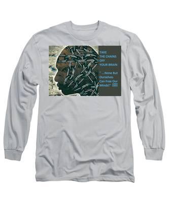 Brain Chains Long Sleeve T-Shirt
