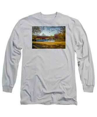 Bridgeton Mill Covered Bridge Long Sleeve T-Shirt