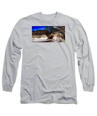 Celebrate The Winter Night Long Sleeve T-Shirt