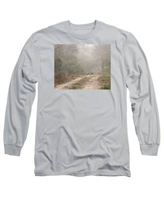 Country Road In The Morning Long Sleeve T-Shirt