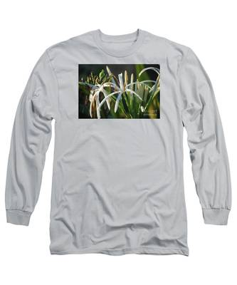 Early Morning Lily Long Sleeve T-Shirt