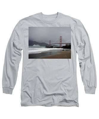 Entering The Golden Gate Long Sleeve T-Shirt