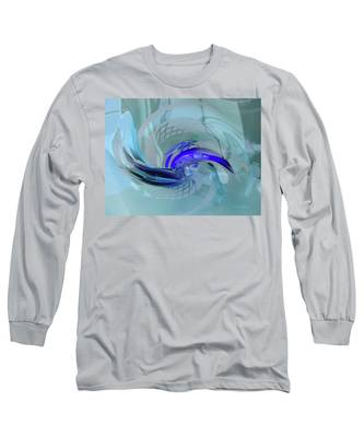 Feeling Tiffany Blue Long Sleeve T-Shirt