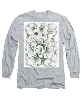 Clivia Flowers Pencil Long Sleeve T-Shirt