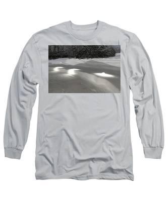 Glowing Landscape Lighting Long Sleeve T-Shirt