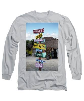 Here's What's Here 1 Long Sleeve T-Shirt