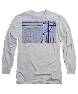 Long Sleeve T-Shirt featuring the photograph Krishna Blue by Skip Hunt