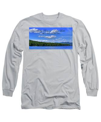 Luby Bay On Priest Lake Long Sleeve T-Shirt