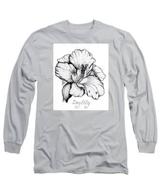 Luscious Daylily  Long Sleeve T-Shirt