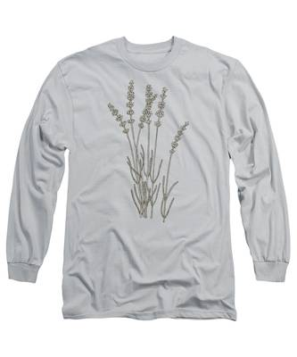 Lavender Long Sleeve T-Shirts