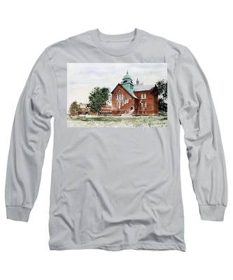 Oklahoma State University Old Central Long Sleeve T-Shirt