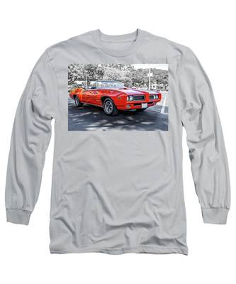 Pontiac G T O Judge Convertible Long Sleeve T-Shirt