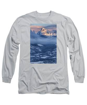 Precipice Smiling Long Sleeve T-Shirt