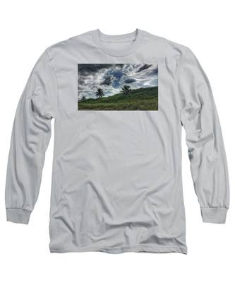Rain Clouds Long Sleeve T-Shirt