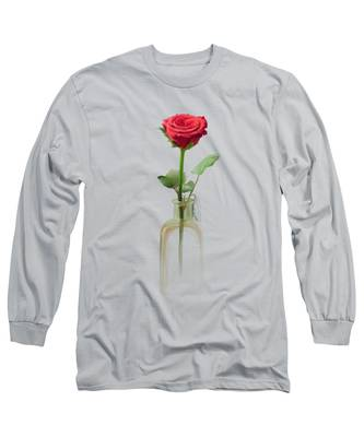 Smell The Rose Long Sleeve T-Shirt