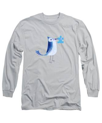 Blue Long Sleeve T-Shirts
