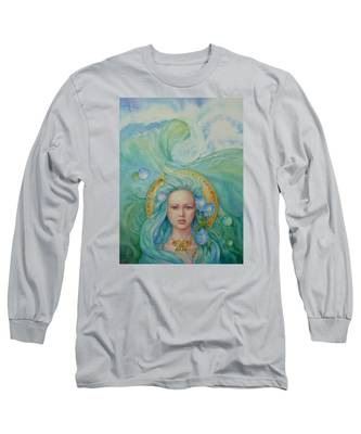 Under The Waves Long Sleeve T-Shirt