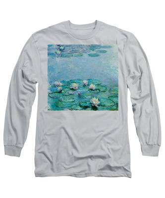 Monet Water Lilies Long Sleeve T-Shirts