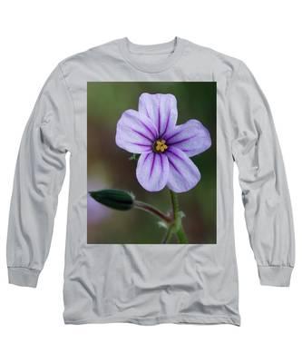 Wilderness Flower 3 Long Sleeve T-Shirt