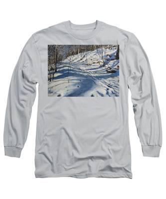 Winter's Shadows Long Sleeve T-Shirt