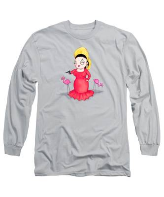 Water Long Sleeve T-Shirts