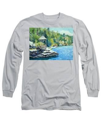 Mira Fink Landscapes Long Sleeve T-Shirts