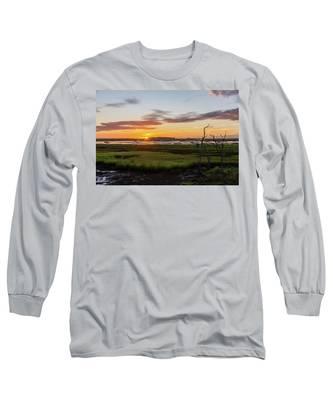 Murrells Inlet Sunrise - August 4 2019 Long Sleeve T-Shirt