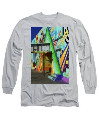 Paste Long Sleeve T-Shirt by Skip Hunt