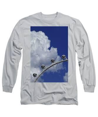 Pod Cluster 2 Long Sleeve T-Shirt by Skip Hunt
