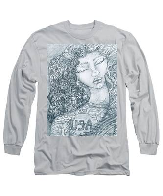 The Immigrant Heart Long Sleeve T-Shirt