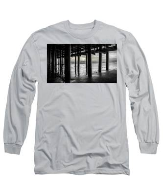 The Light Downunder - B And W Long Sleeve T-Shirt