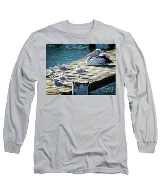 Waiting For A Feed Long Sleeve T-Shirt