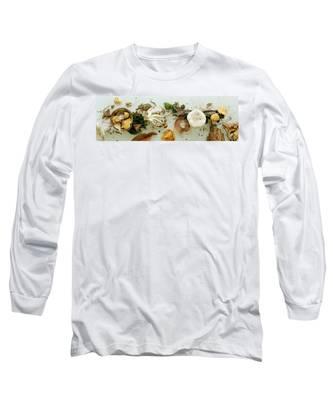 An Assortment Of Mushrooms Long Sleeve T-Shirt